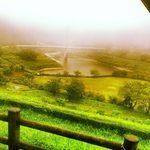 栖の宿 - 河内ダムが見渡せます。