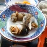 ちどり - 岩がき定食の煮貝