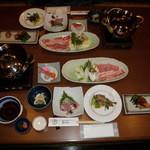 まんてん - 料理写真:夕食(1日目)