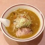 ラーメン まるいし - 味噌ラーメン(600円)
