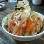 19969100 - 【裏メニュー】納豆を和えて食べる海鮮冷奴