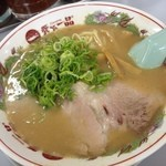 天下一品 - 天下一品 二条駅前店のチャーハン定食860円のラーメン(13.04)