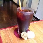 19975051 - セットのドリンクはアイスコーヒーにしてみた