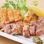 うな善 - 名古屋コーチン【焼鶏(塩・たれ)】はかりっと焼いた上質の名古屋コーチンを、さっぱりとお召し上がり頂けます