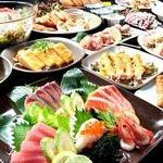 全席個室居酒屋 京の町に夢が咲く - 厳選素材を使用したお料理。