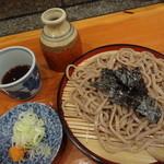 山海 - ざる蕎麦