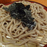 山海 - ざる蕎麦(アップ)