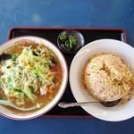 福源 - 麺飯セット¥680