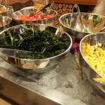 SALVATORE CUOMO & BAR - 野菜の種類が少ない