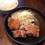 麺恋家  - からあげセット280円