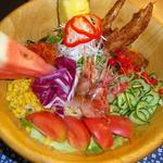 鶏がさきか卵がさきか - 料理写真:ニワタマ発ラーメンサラダ『札幌』