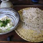 桐花 - 料理写真:生湯葉蕎麦