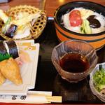 富勝 - 料理写真:素麺セット