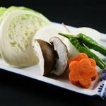 うなり - 焼き野菜五種盛り