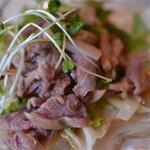 蔵 - 特別に作ってもらったヤギ肉の炒め物