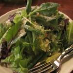 たなかい - たっぷり野菜のグリーンサラダ 600円