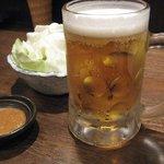 1999341 - 生ビールとお通し