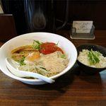 拉麺Shin. - コブシ塩冷麺(750円)