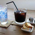 カフェスバコ - アイスコーヒーのアップ