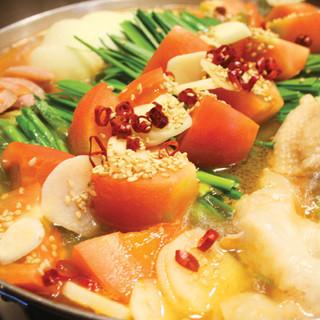 ≪7~9月限定≫トマトもつ鍋1,450円