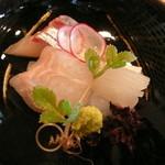 祇園 櫻川 - 鯛・烏賊・シマアジ