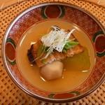 祇園 櫻川 - 炊き合わせ 穴子・小芋・冬瓜
