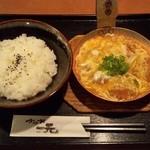 19992138 - 『かつとじ丼 W卵』(710円)~♪(^o^)丿