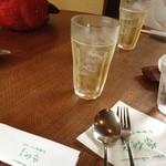 ピッツァ・チーズ料理の店 美砂家 - 自家製梅酒