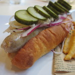 Doggy's Diner - プレーンドッグ+ピクルス&オニオン+ザワークラウト
