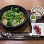 デニーズ - たっぷり野菜スープごはん(500円)