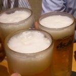 楽蔵 - 乾杯生ビール!