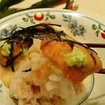 和食 加寿也 - ウニ・鱧・マグロの山かけお造り