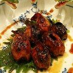 和食 加寿也 - 鱧の肝の照り焼き