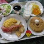 クリスタルパレス レストラン - クリスタルパレスの朝食メニュー2009年6月