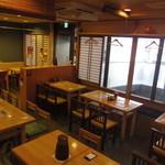 ひろしま酒蔵 歓粋亭 - 店内写真 35名様まで宴会です。