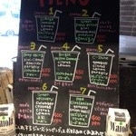 20002667 - ジュースは6種類各400円。