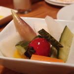 スミヴィノ - Jul, 2013 彩り野菜のピクルス500円