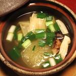 20004006 - 煮物 鼈丸子鍋 (早松 湯葉 冬瓜 九条ねぎ)