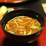 雑司が谷 寛 - 食事 (味噌汁)