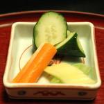 雑司が谷 寛 - 食事 (香の物)
