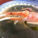 20005491 - 浜ちゃんぽん 850円 蟹の爪 【 2013年7月 】