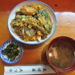 天つゆ - ランチ天丼 780円