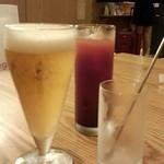 備長 - ビール等…いろいろと♬*