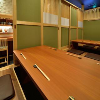 ※人気の個室は事前ご予約がオススメです。