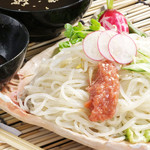 牛たん炭火焼専門店 極 - 【冷やし梅冷麺】