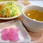 チャイナパーク - 中華スープ・サラダ・漬物