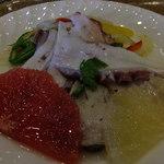 六甲ビューパレス - 明石蛸のマリネ:450円