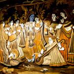 神戸Aarti - インドの神様が描かれる!