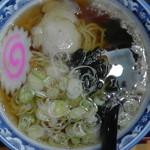 丸八亭 - 半ラーメン(真上)