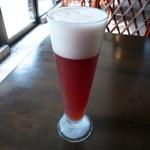 20013947 - 季節のビール(ブルーベリーエール) グラス